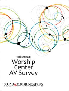 Annual Worship Center AV Survey