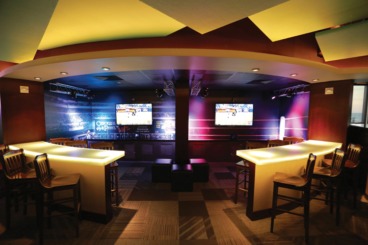 Sports bar gets serious aloadofball Gallery