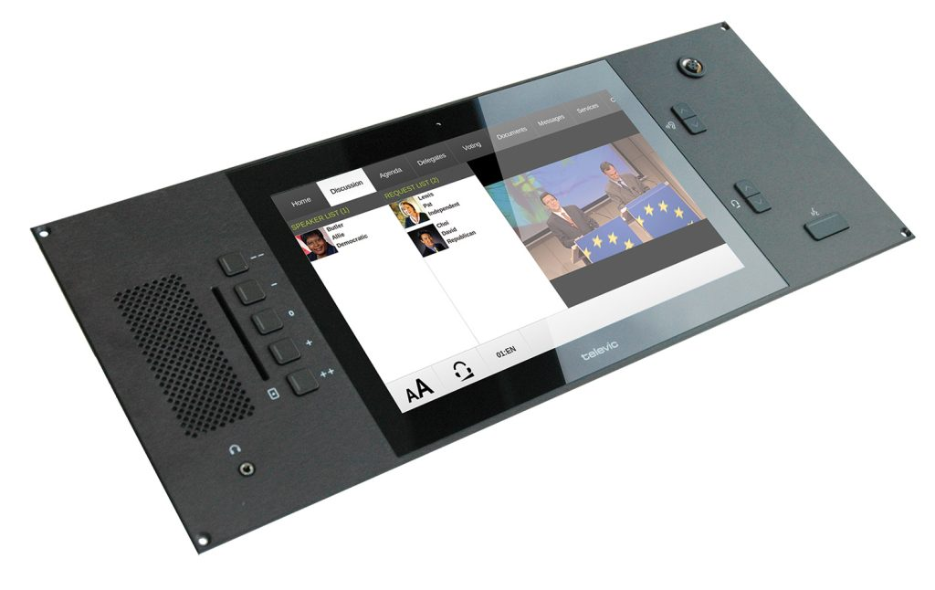 Televic Conference's Multimedia Unit