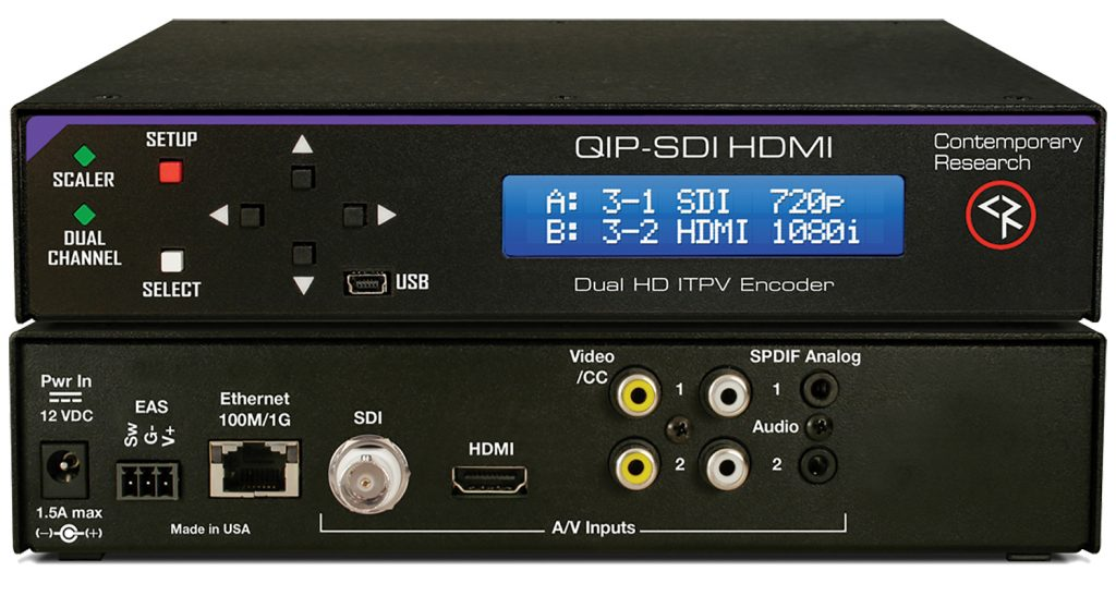 Contemporary Research QIP-SDI HDMI
