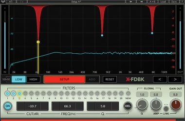 Waves Audio Waves X-FDBK plugin