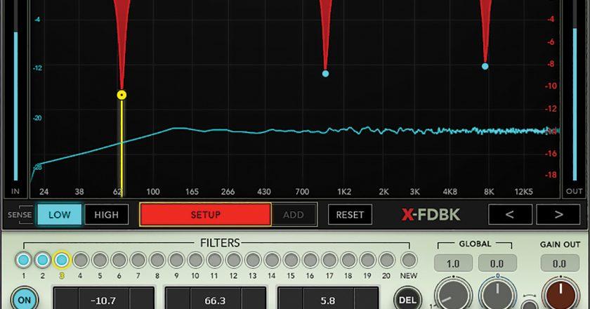 Waves Audio Waves X-FDBK plugin