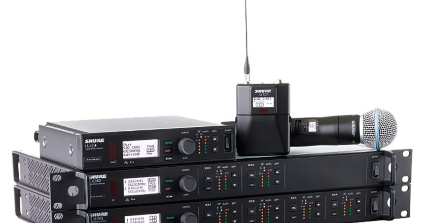 Shure, ULX-D, QLX-D, digital wireless systems