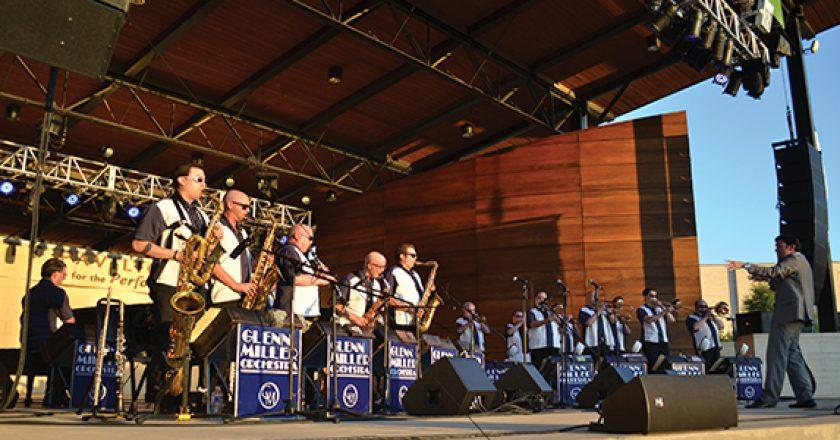 Glenn Miller Orchestra at The Levitt Pavilion for the Performing Arts.