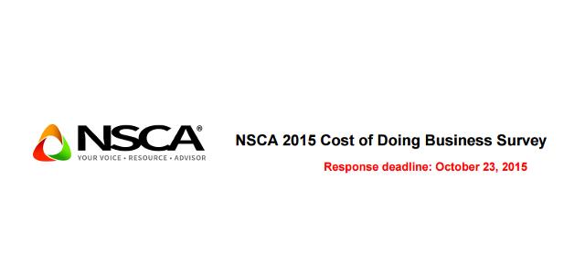 NSCA Survey