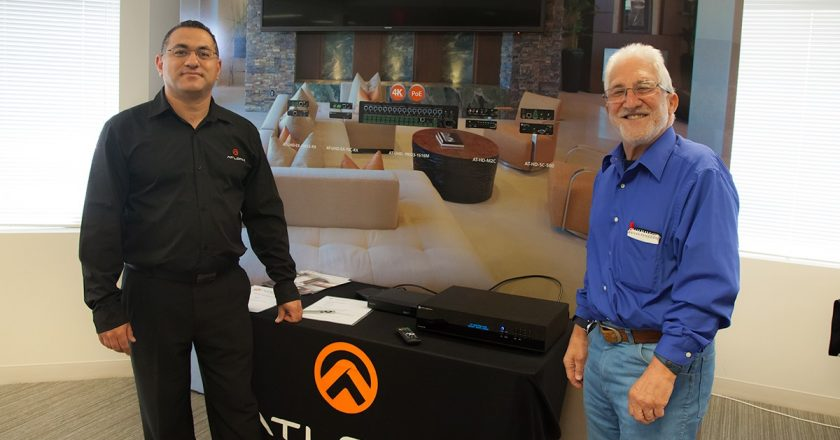 Sound & Communications Editor David A. Silverman received a pre-InfoComm briefing in San Jose with Atlona's director of product management David Shamir. Stay tuned for big news!