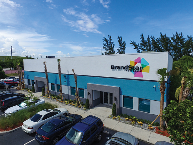 BrandStar is headquartered in Deerfield Beach FL.