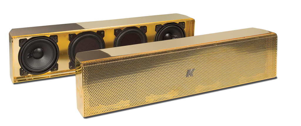 K-array – Gold-Plated Speakers