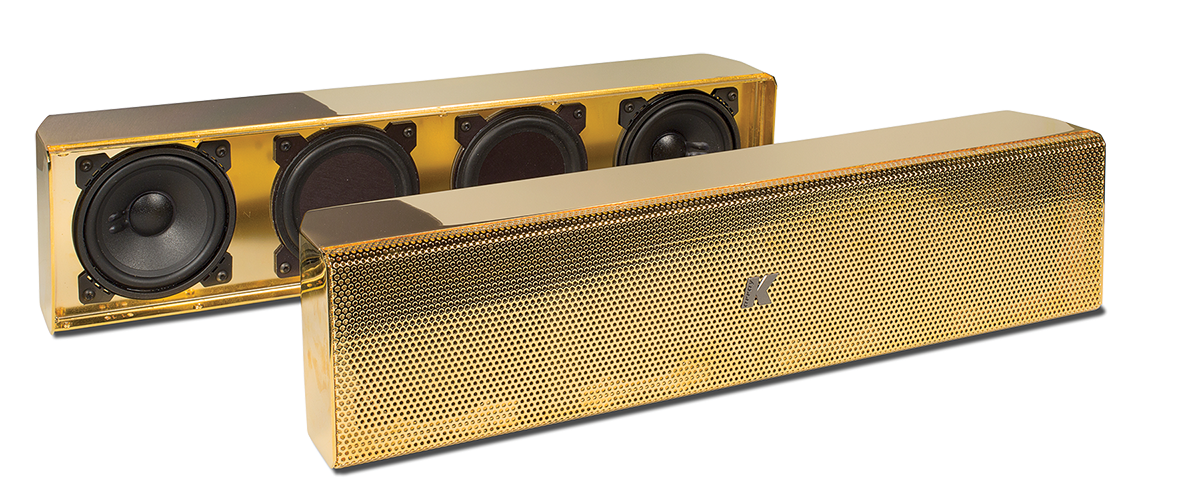 K-array – Gold-Plated Speakers - Sound & Communications
