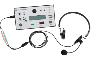 Shure's IH6500 Interpreter Headset