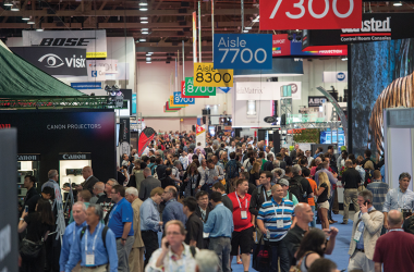 InfoComm16 A record crowd of almost 39,000 packed the trade exhibits.