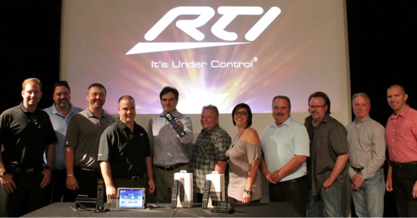 SFM's sales and marketing team with the RTI team at SFM headquarters in Montreal, Quebec.