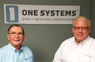 (Left-Right): One System's Garry Templin and Doug MacCallum.