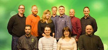 Members of the Listen Technologies – Audio Biz Team.