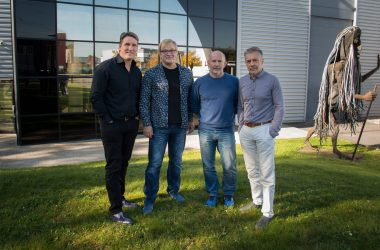 (Left to right) Hervé Guillaume, managing director at L-Group; Reiner Sassmann, managing director at CAMCO; Joachim Stoecker, managing director at CAMCO; and Christian Heil, founder and president at L-Group