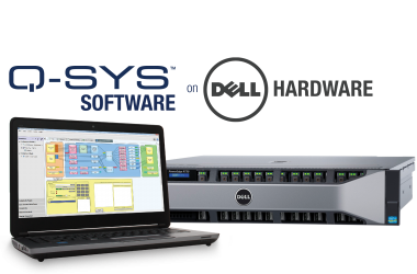 QSC's Q-SYS/Dell Hardware Demonstration