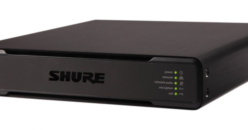 Shure's IntelliMix P300 Audio Conferencing Processor