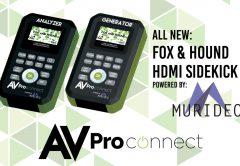 Murideo/AVProConnect's Fox and Hound HDMI Sidekick