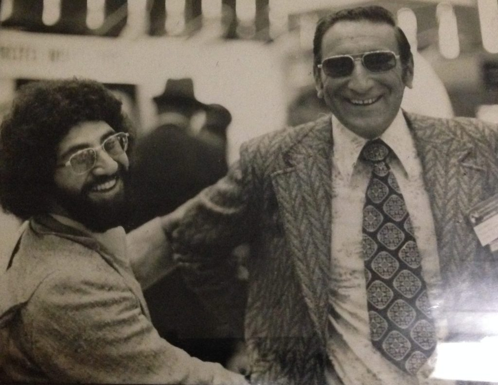 David A. Silverman in the early '70s attending a government photography trade show.