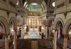 St. Finbar is the Mother Church of Bensonhurst/Bath Beach, Brooklyn NY.