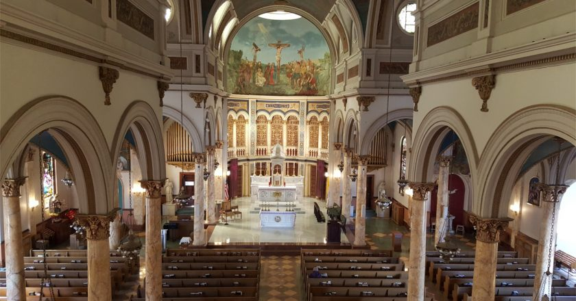St. Finbar is the Mother Church of Bensonhurst/Bath Beach, Brooklyn NY.