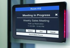 Visix's Updated Interactive Room Signs