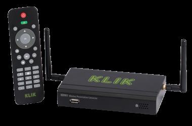 KLIK's Wireless Presentation Connector