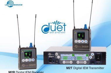 Lectrosonics' Digital Wireless Monitor System