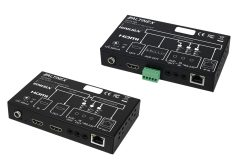 Altinex's TP115-401 and TP115-402 HDMI Over IP Transmitter/Receiver System
