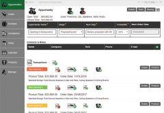 SalesPartners' CRM platform