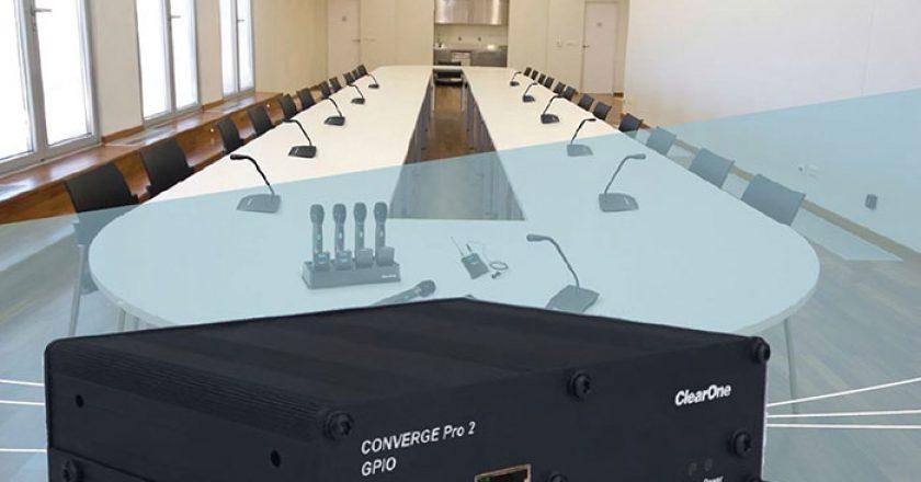 ClearOne's CONVERGE Pro 2 GPIO