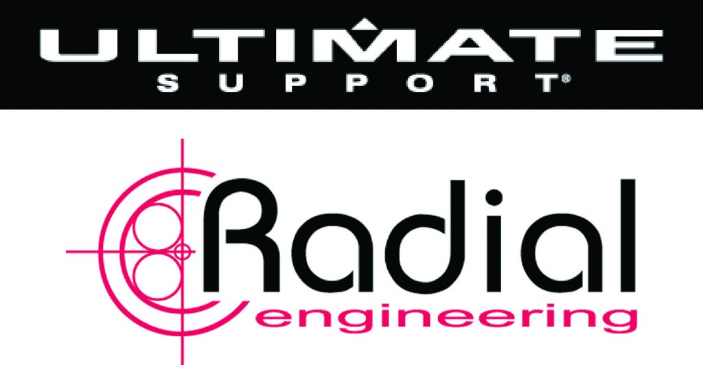 Ultimate Support Radial Engineering Logos