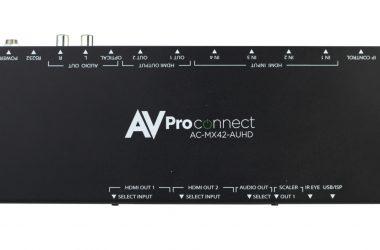 AVProConnect's AC-MX42-AUHD HDMI Matrix Switch