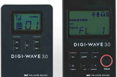 Williams Sound's Digi-Wave DLT 300 Digital Transceiver with Bilingual Mode and Relay Mode