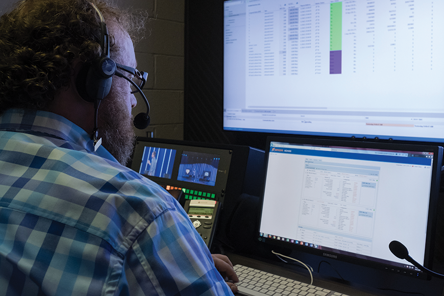 Mankin's network operations center is staffed by a team of dedicated Guardian technicians who are on call 24/7.