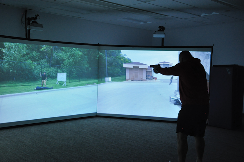 Lifelike simulations help prepare public safety officers for real-world situations.