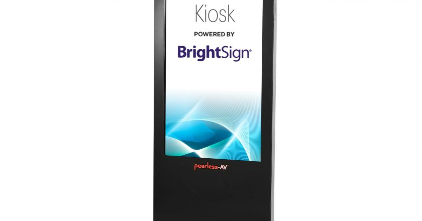 KIPICT555 All-in-One Kiosk Powered by BrightSign