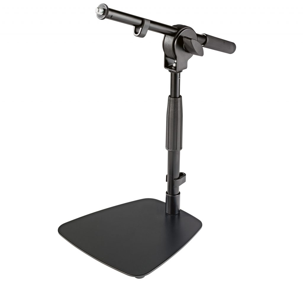 K 246 Nig Amp Meyer S Tabletop Mic Stand With Mini Boom
