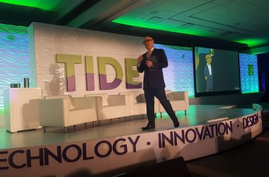 Kevin Jackson, Creative Director, The Experience Is The Marketing, was the emcee at TIDE Las Vegas.