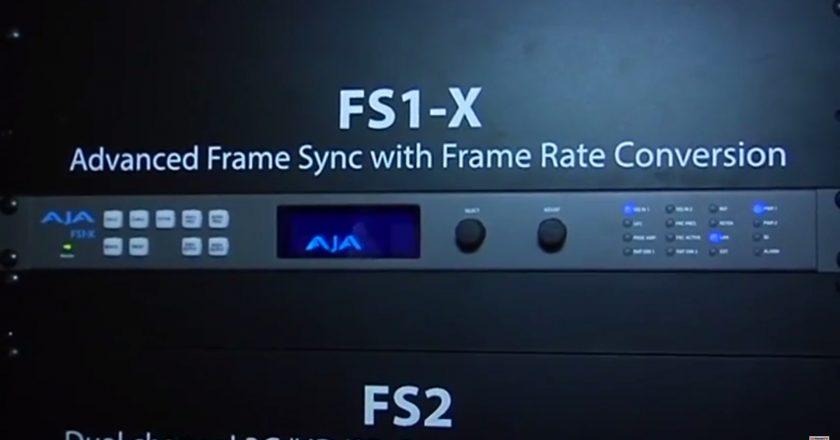 AJA's FS1-X Synchronizer And Converter