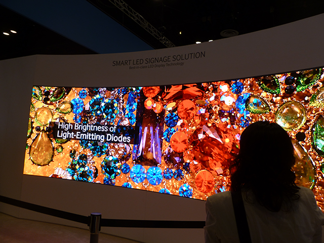 Samsung's direct-view LED display.