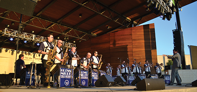 Glenn Miller Orchestra at The Levitt Pavilion for the Performing Arts.