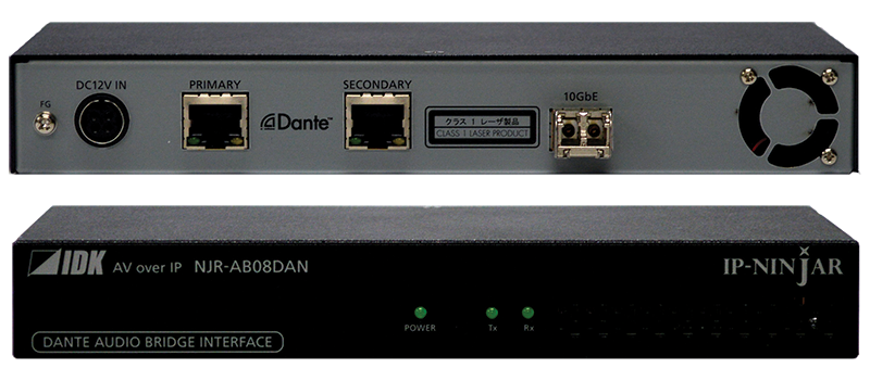 Bridge between IP-NINJAR and Dante Audio Network