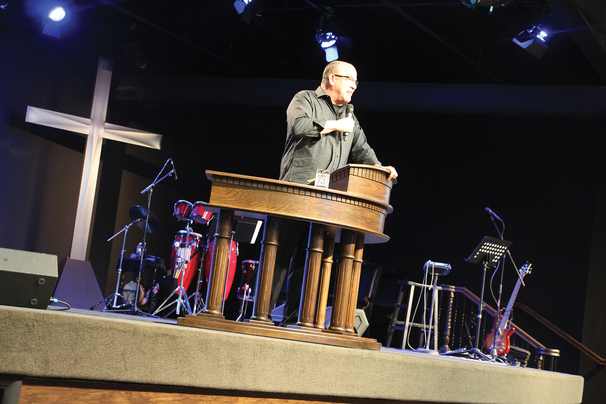 """Senior Pastor Bob Mazeroski spotted a """"diamond in the rough"""" that became the new home of New Life Church."""