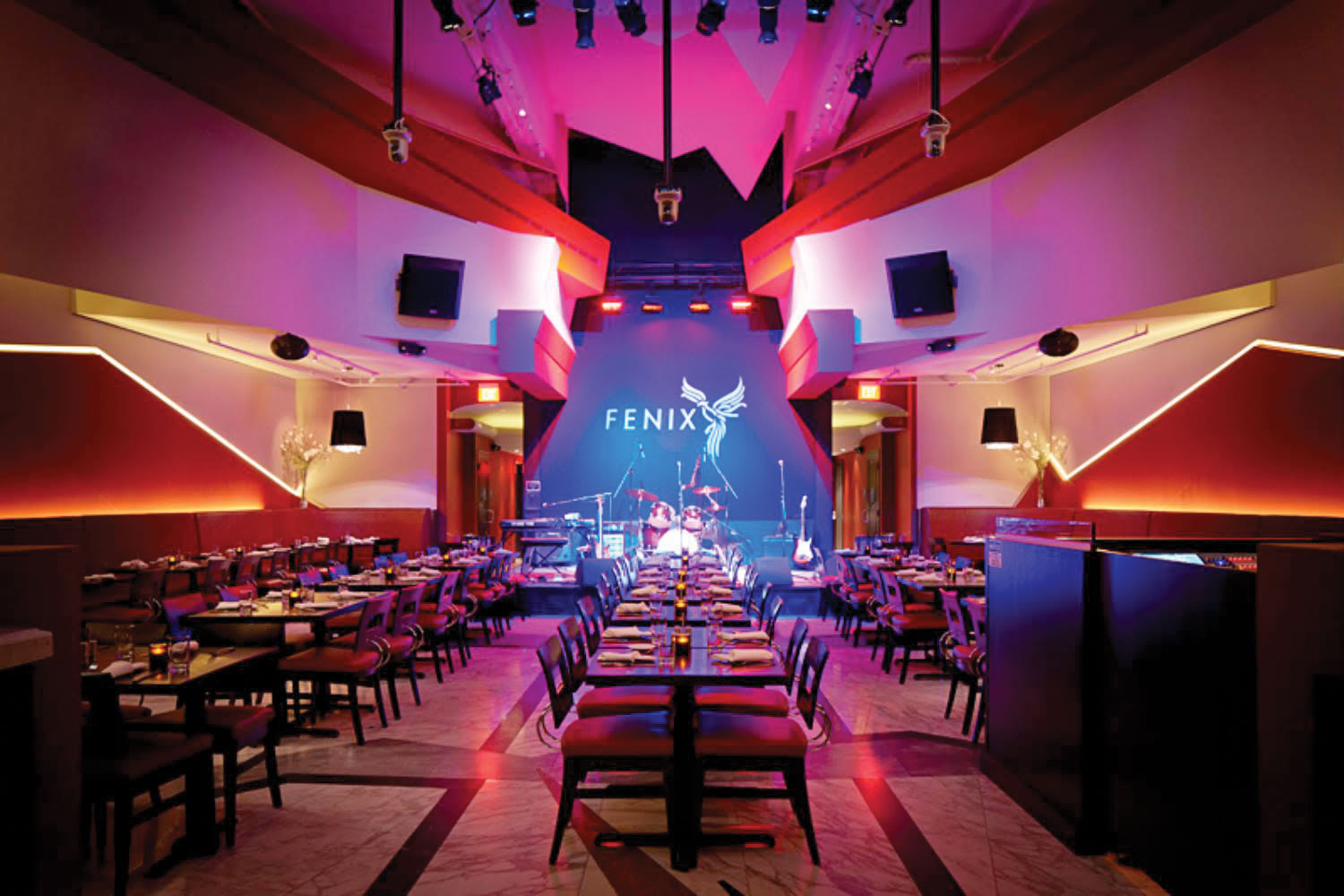 Fenix Club in San Rafael CA has introduced a template for a new form of creative and social interaction, onsite and online.