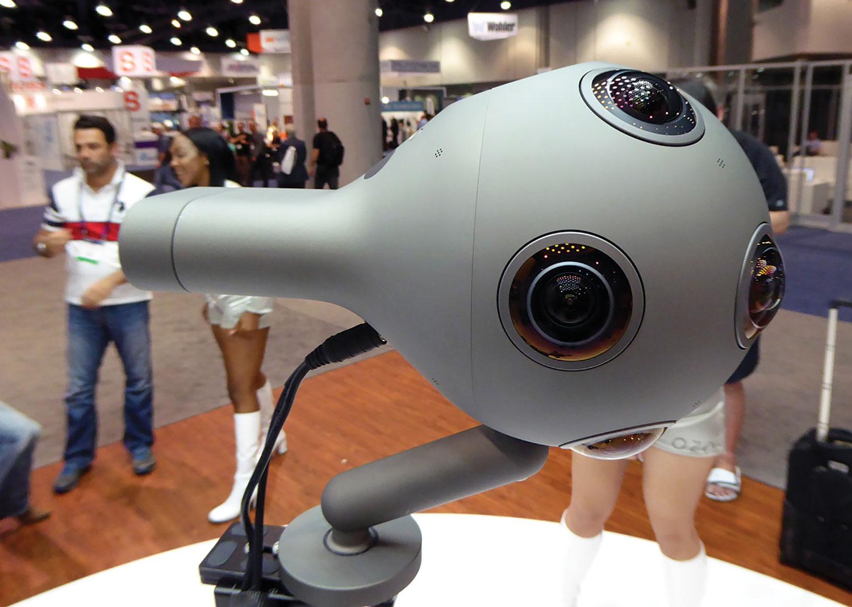 Nokia's VR camera.