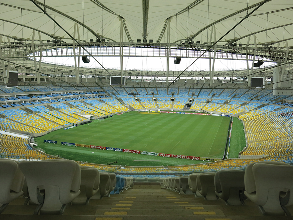 Maracanã Stadium featured a gamut of audio and video technology.