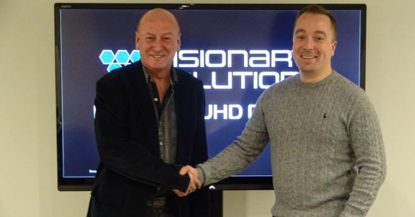 Francis Williams (World Marketing Associates) and Stuart Thomson (CUK)