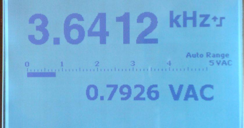 Figure 1. Digital meter readout.