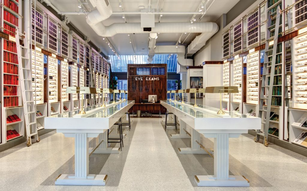 Warby Parker hopes to enable users to get an eye exam on their mobile phones.